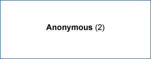 Anonymous Donors