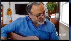 Menachem performing